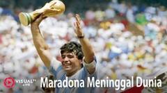 Maradona Meninggal Dunia, Ini Sepenggal Kisah Si Tangan Tuhan