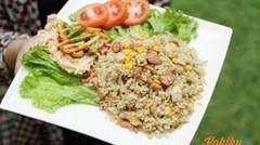 Resep Nasi Goreng Cabe Hijau (Fried Rice with Green Chili Recipe Video) | MELATI PUTRI
