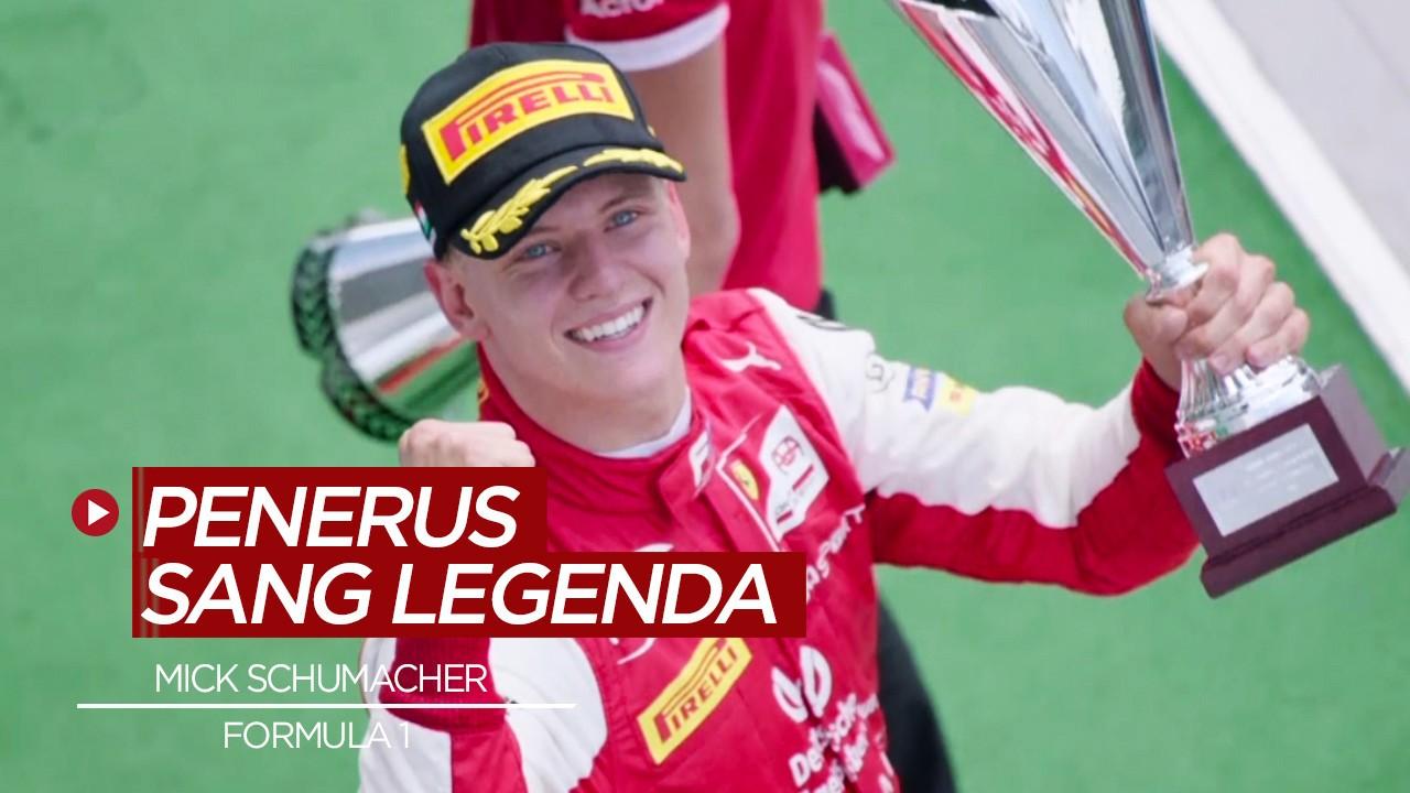 Streaming Teruskan Jejak Michael Schumacher, Mick Schumacher Bakal Tampil di F1 2021 - Vidio.com