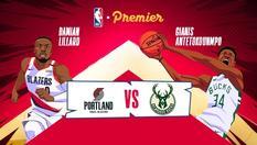 22 NOV 2019   08:00 WIB   NBA 2019  - Portland vs Milwaukee