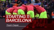Perkiraan 11 Pemain Starter Barcelona Musim Depan