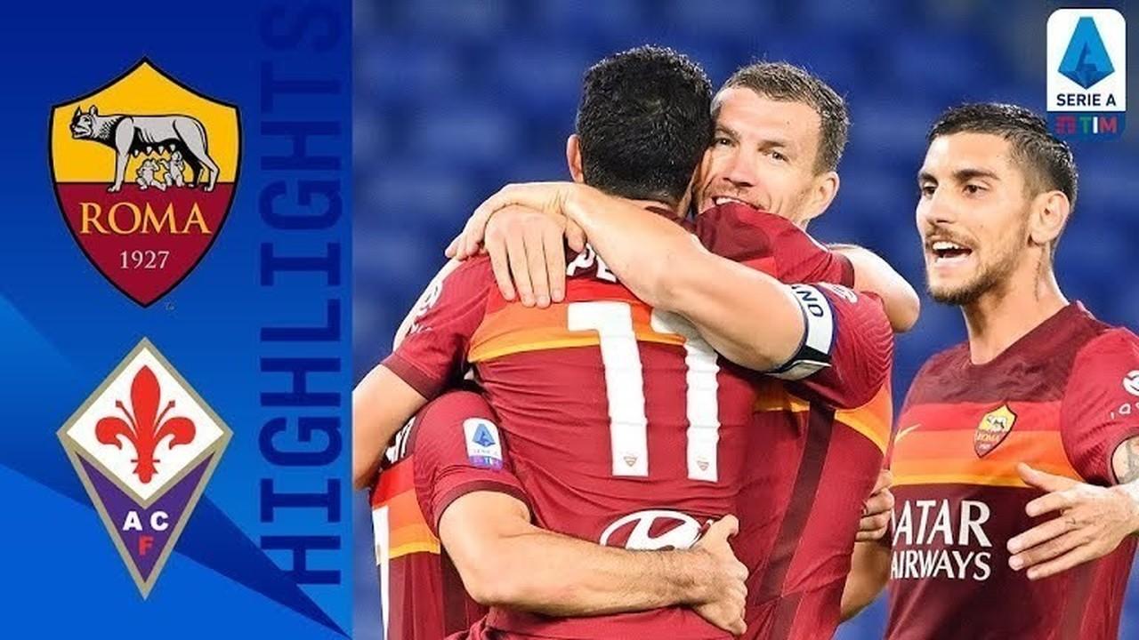 Streaming Match Highlight | Roma 2 vs 0 Fiorentina | Serie