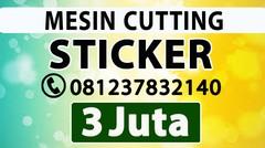 SUPPLIER ALAT KATING STIKER MURAH MANADO Mesin Printer Cutting Sticker Pemotong Polyflex Cetak Vinyl