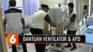RS Bhayangkara Brimob Kelapa Dua, Depok, Terima Bantuan APD dan Ventilator dari Emtek Peduli Corona