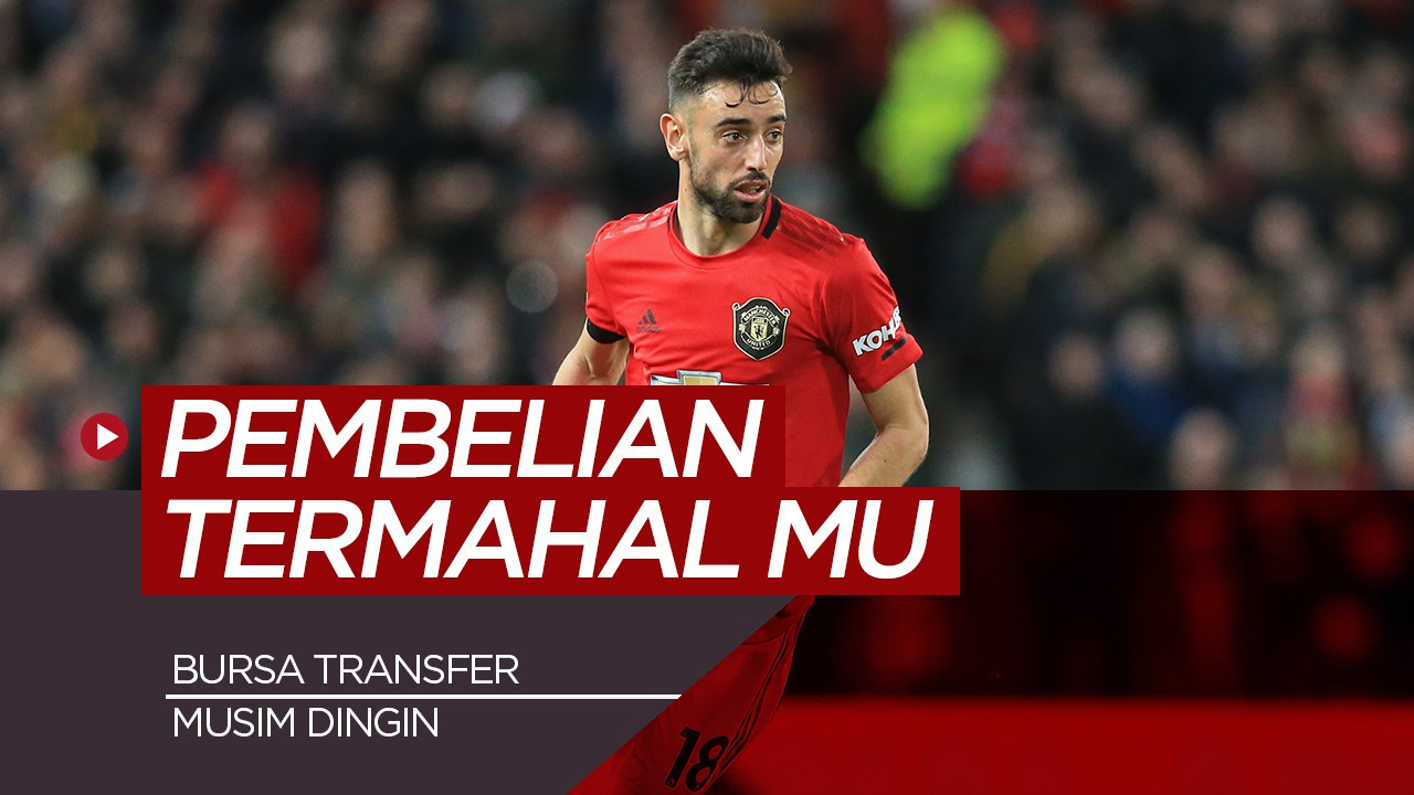 5 Pembelian Termahal Manchester United Pada Bursa Transfer Musim Dingin