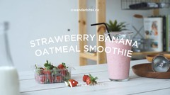 Resep Ramadhan : Strawberry Banana Oatmeal Smoothie