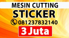 MESIN PRINT STICKER MURAH TAHUNA AMURANG SULAWESI UTARA TUTUYAN RATAHAN | DISTRIBUTOR JUAL Alat Kating Polyflex Jinka Cameo Graphtec Pemotong Stiker Cating Potong Vinyl