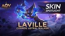 Cosmos Astral Walker Laville Skin Spotlight - Garena AOV (Arena of Valor)