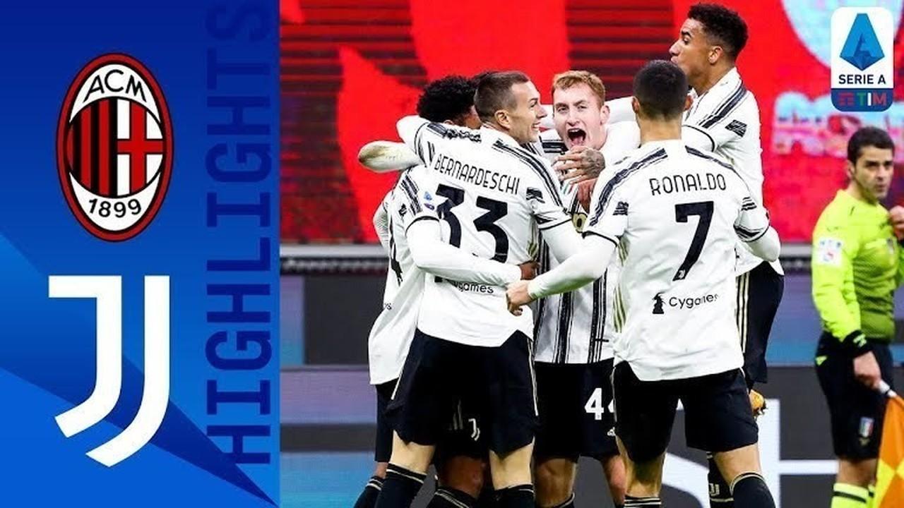 Streaming Match Highlight AC Milan 1 Vs 3 Juventus