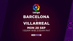 Barcelona vs Villarreal - Senin, 28 September 2020 | La Liga Santander 2020