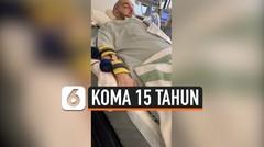 KOMA 15 TAHUN, PANGERAN ARAB SAUDI SUDAH BISA RESPON SUARA DENGAN GERAKAN