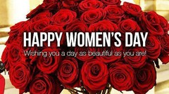 Selamat Hari Perempuan, Cewek, Gadis, Wanita, Nenek, Tante, Mbak dan Ibu Internasional 2017