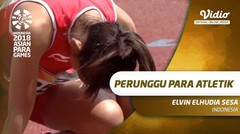 Elvin Elhudia Sesa Raih Medali Perunggu