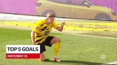 Termasuk Gol dari Erling Haaland, Berikut 5 Gol Terbaik Bundesliga Pekan 31