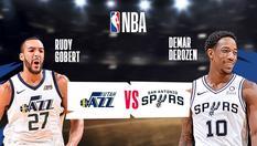Utah Jazz vs San Antonio Spur - 30 Jan 2020 | 08:30WIB