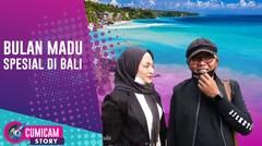 Moment Spesial Bulan Madu Sule dan Nathalie Holscher di Pulau Bali