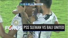 Berkat Gol Platje dan Bessa, Bali United FC Kalahkan PSS Sleman | Fokus