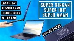 Laptop Tipis-Ringan Terbaik ASUS- Review Expertbook B9450