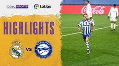 Match Highlight | Real Madrid 1 vs 2 Alaves | La Liga Santander 2020