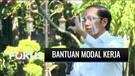 Presiden Jokowi Berikan Bantuan Modal Kerja untuk Puluhan Pedagang Kecil