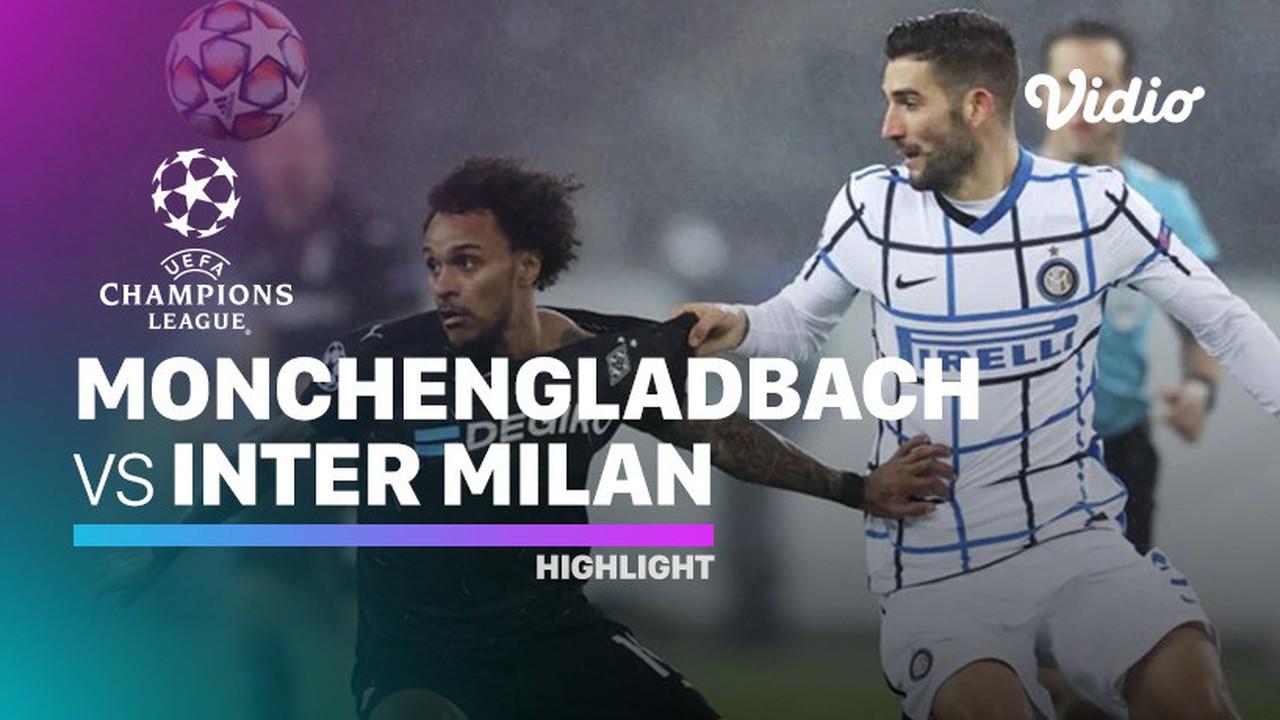 Streaming Highlight - Monchengladbach vs Inter Milan I ...