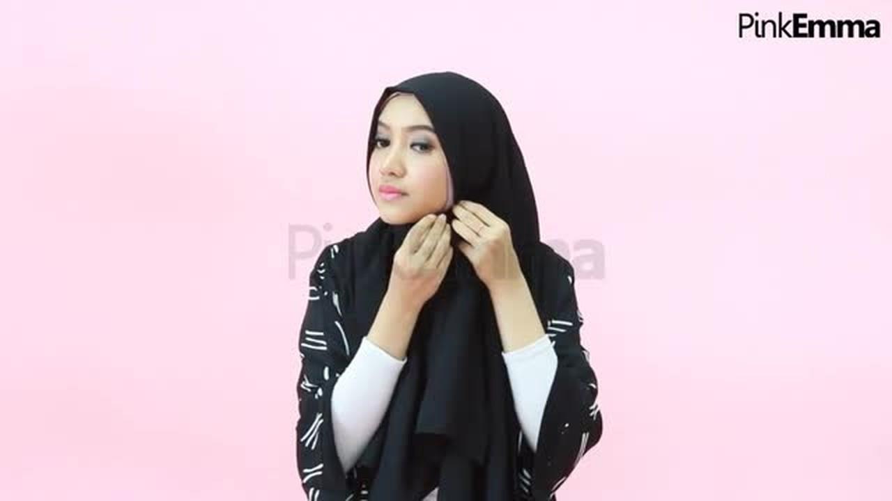 Streaming Tutorial Jilbab Segi Empat Simpel Dan Anggun Vidio