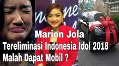Gak Nyangka !! Tereliminasi Dari Indonesia Idol, Kabarnya Marion Jola Dapet Hadiah Mobil Mewah