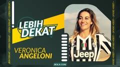 Lebih Dekat Veronica Angeloni, Atlet Voli Cantik Italia yang Pernah Main di Proliga dan Fans Berat Juventus (Part 2)