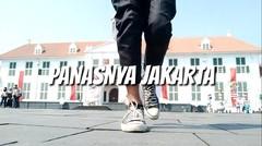 Panasnya Kota Tua Jakarta, Berjemur Sampai Gosong | Lukman Crespo