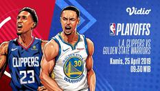[25 Apr 09:30] Live Streaming NBA Playoffs - L.A Clippers vs Golden State Warriors