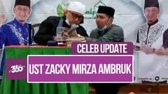 Ustaz Zacky Mirza Pingsan di Antara Dzikir Saat Tausiah