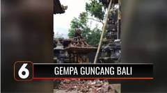 Gempa Bumi Magnitudo 4,8 Guncang Bali, 3 Orang Dilaporkan Tewas   Liputan 6
