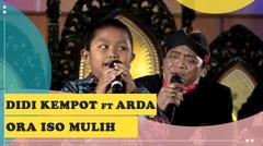 Didi Kempot feat Arda - Ora Iso Mulih Lirik (Live Konser Amal dari Rumah)