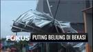 Mengerikan! Puting Beliung Porak-porandakan Belasan Rumah di Bekasi | Fokus