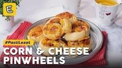 Resep Corn dan Cheese Pinwheels