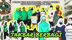 Persit KCK Cab XVII Kodim 0503/Jakarta Barat Berbagi Kasih Kepada Para Warakawuri Dan Anak Yatim Piatu