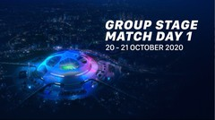Champions League Group Stage   Matchday 01 20-21 Oktober 2020