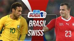 Gol-Gol Brazil vs Swiss Di Piala Dunia 2018