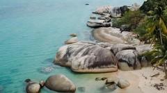 Pantai Batu Kasah, Kepulauan Riau.