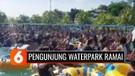 Viral Pengunjung Membludak di Tengah Pandemi, Pemilik Waterpark di Medan Minta Maaf dan Akui Soal Ini