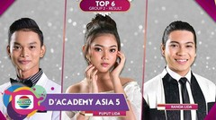 D'Academy Asia 5 - Konser Top 6 Group 2 Result