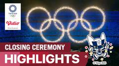 Highlights | Closing Ceremony: Olympic Games Tokyo 2020
