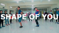 'SHAPE OF YOU DANCE' - Ed Sheeran (BKAYE Remix) | ROLAND WIJAYA Choreography