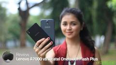 Lenovo A7000 vs Alcatel Onetouch Flash Plus - Review Indonesia