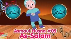 AS-SALAM - ASMAUL HUSNA 05 | Diva Bernyanyi | Lagu Anak Channel