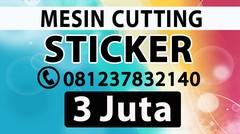 MESIN PRINT STICKER MURAH TOMOHON MANADO BITUNG MINAHASA KOTAMOBAGU | DISTRIBUTOR JUAL Alat Kating Polyflex Jinka Cameo Graphtec Pemotong Stiker Cating Potong Vinyl