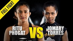 Ritu Phogat vs. Jomary Torres | ONE Championship Full Fight