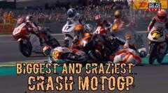 Biggest and Craziest Crash Motogp of All Times