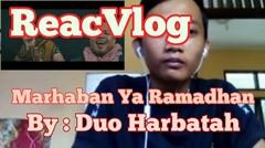 ReacVlog #9 Puasa Ke5 Dengerin Music #Duo Harbatah