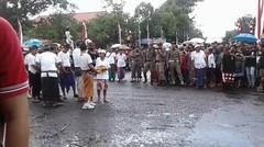 Parade Budaya Hut Kota Singaraja Ke - 413 Kecamatan Banjar